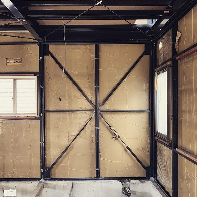 Union Jack #renovation #architecture #houseinjapan #research #steelstructure